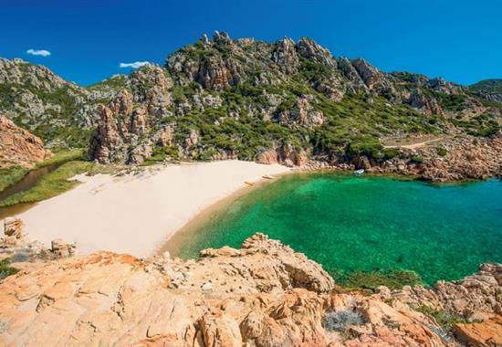 Sardinie a nejkrásnější pláže Evropy - Sardinie