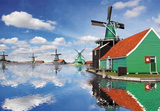 Květinové korzo a Park Keukenhof - Nizozemsko