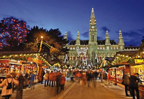 Advent ve Vídni - Rakousko