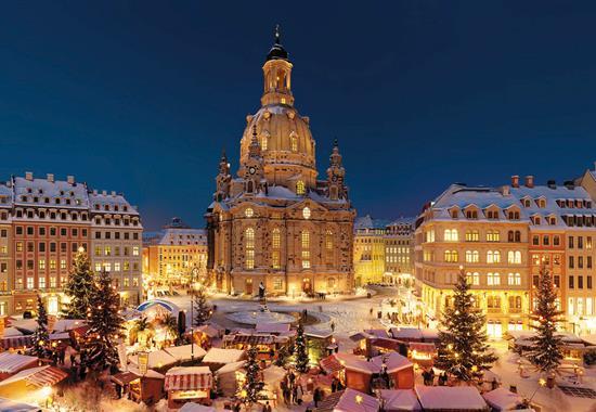 Advent v Drážďanech - Německo