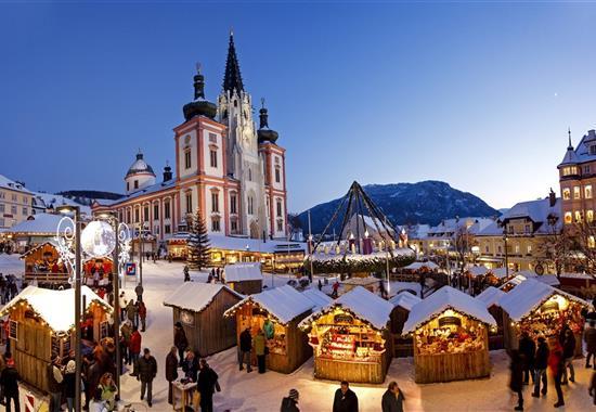 Advent v Mariazell - Rakousko
