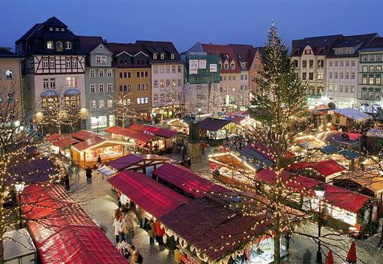 Adventní trhy v Norimberku - Německo