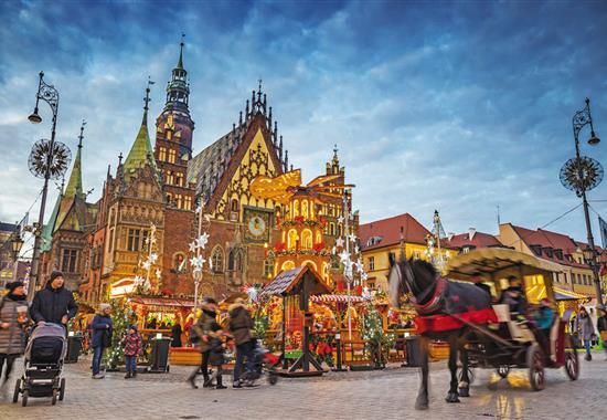 Adventní Wroclaw - Polsko