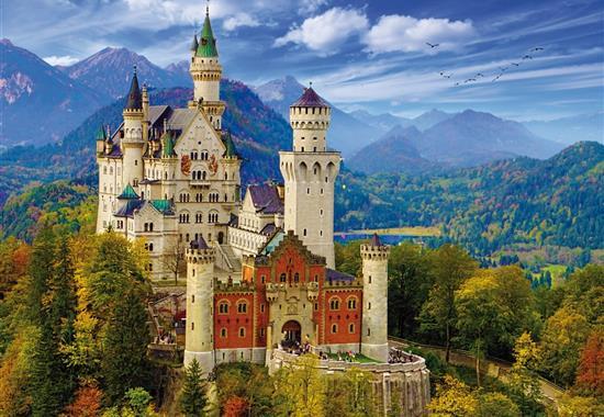 Zámky Ludvíka Bavorského - Německo