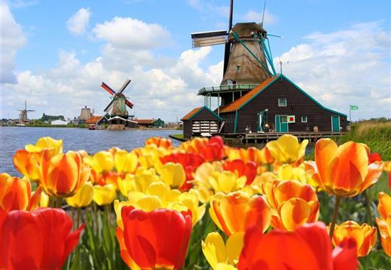 Holandsko - země sýrů, větrných mlýnů a grachtů - Nizozemsko
