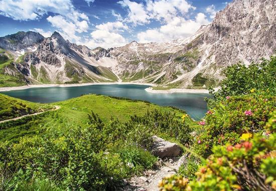 Bodamské jezero, Silvretta a Rýnské vodopády - Švýcarsko