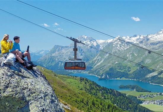 Švýcarsko, Engadin a údolí Val Venosta - Švýcarsko