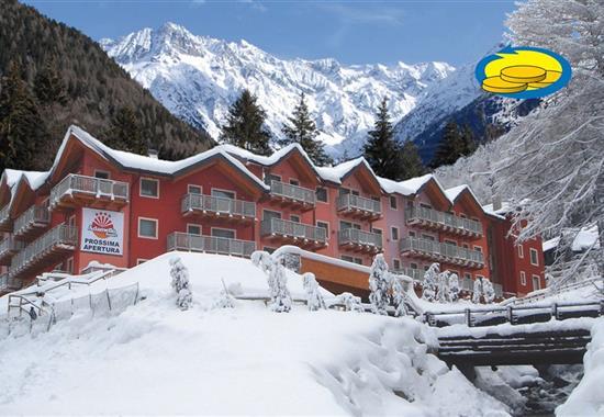 Passo Tonale/Ponte di Legno – Rezidence Adamello Resort -