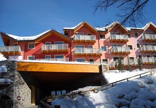 Passo Tonale/Ponte di Legno – Rezidence Adamello Resort - Itálie